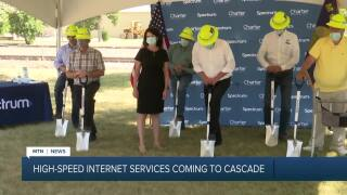 Cable provider bringing high-speed Internet to Cascade