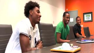 MSU football players interning with PAL