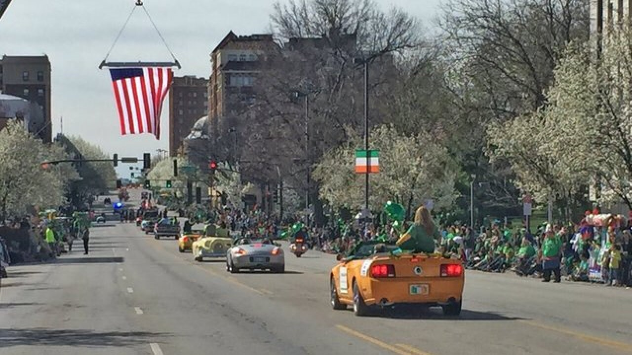 St. Patrick's Day sweeps through KC