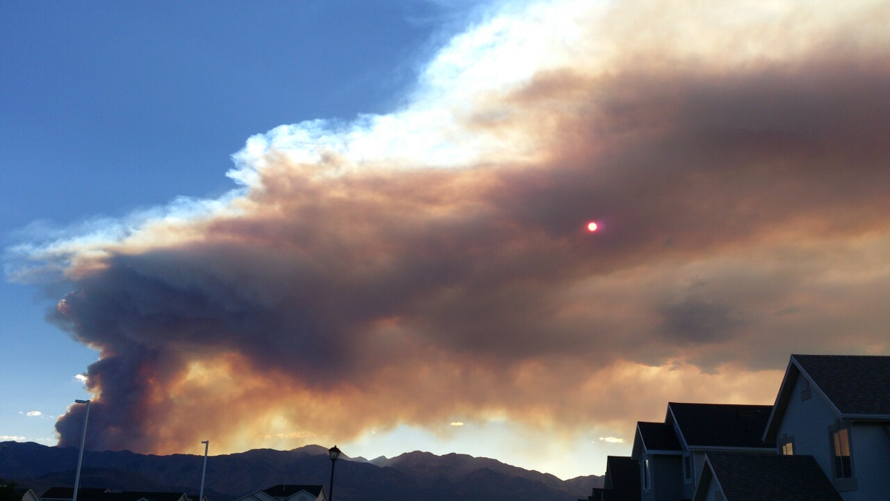 Fire burning more than 6,000 acres in Tooele County