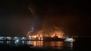 Firefighters battling four-alarm fire at San Francisco tourist destination