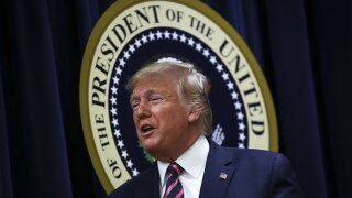 Trump threatens again to veto defense policy bill as House plans to vote