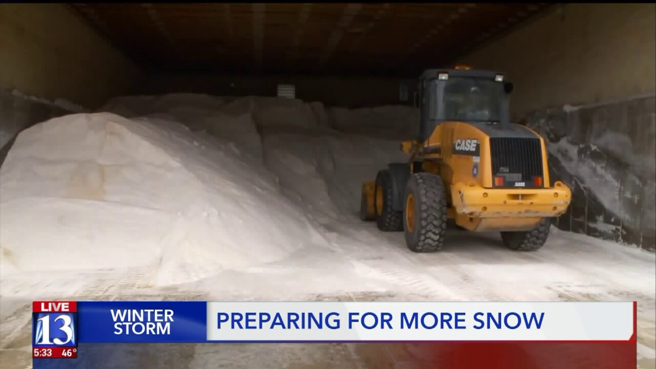 'We need people to slow down': UDOT prepares for the return of winter weather