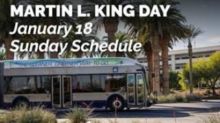 MLK RTC transit schedule