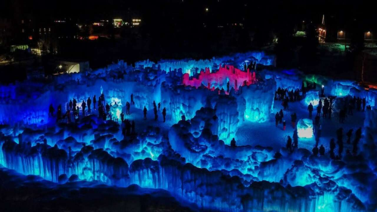 Ice Castles to return to Colorado this December