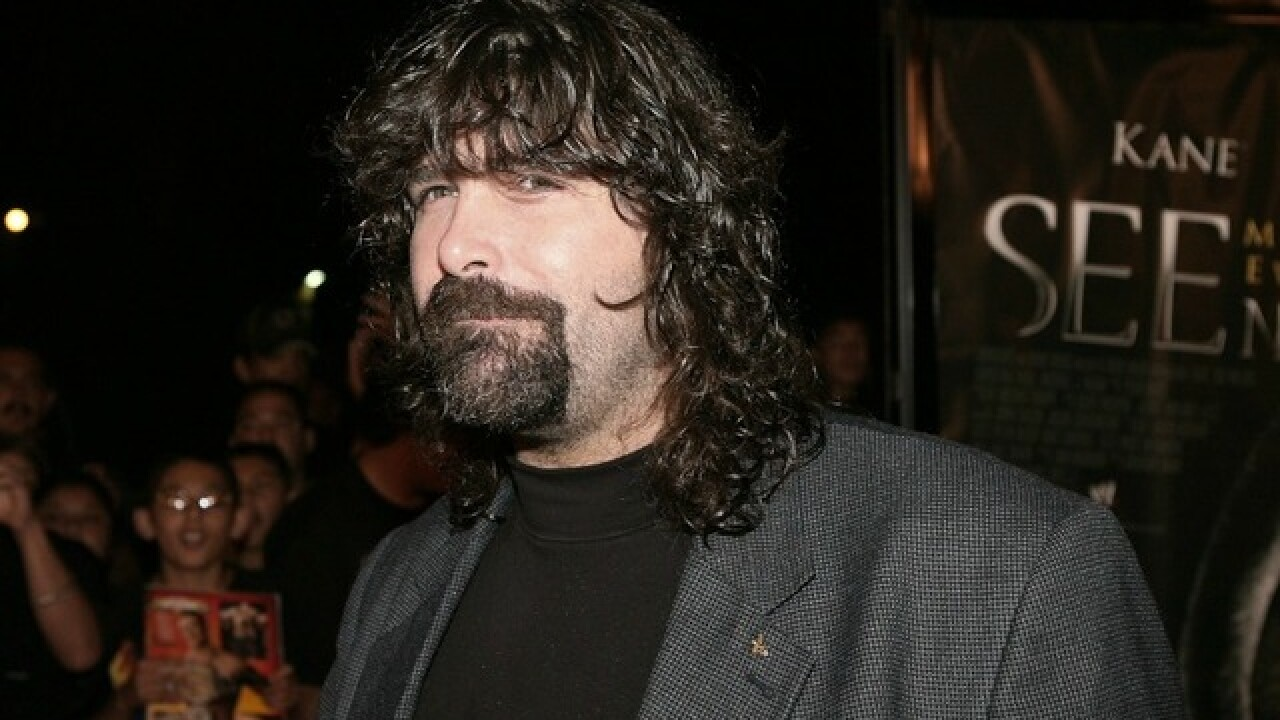 Pro wrestling legend Mick Foley bringing comedy show to Phoenix
