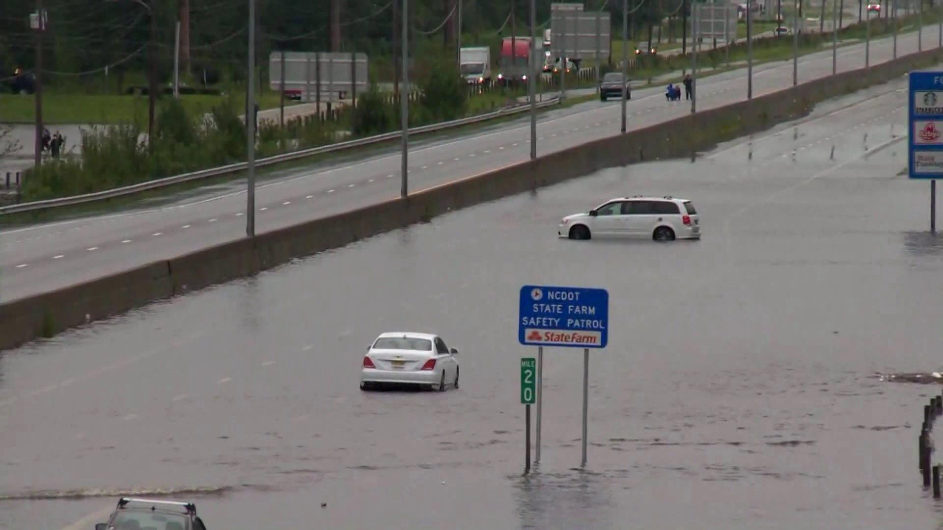 Photos: Avoid I-95: Drivers told to 'go around' NorthCarolina