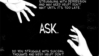 EDITORIAL CARTOON: Ask to help. Ask for help.