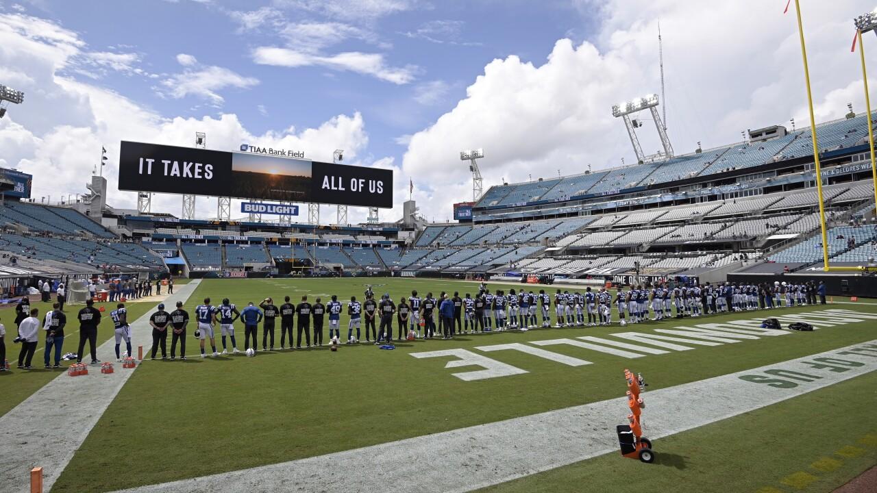 Colts Jaguars Football
