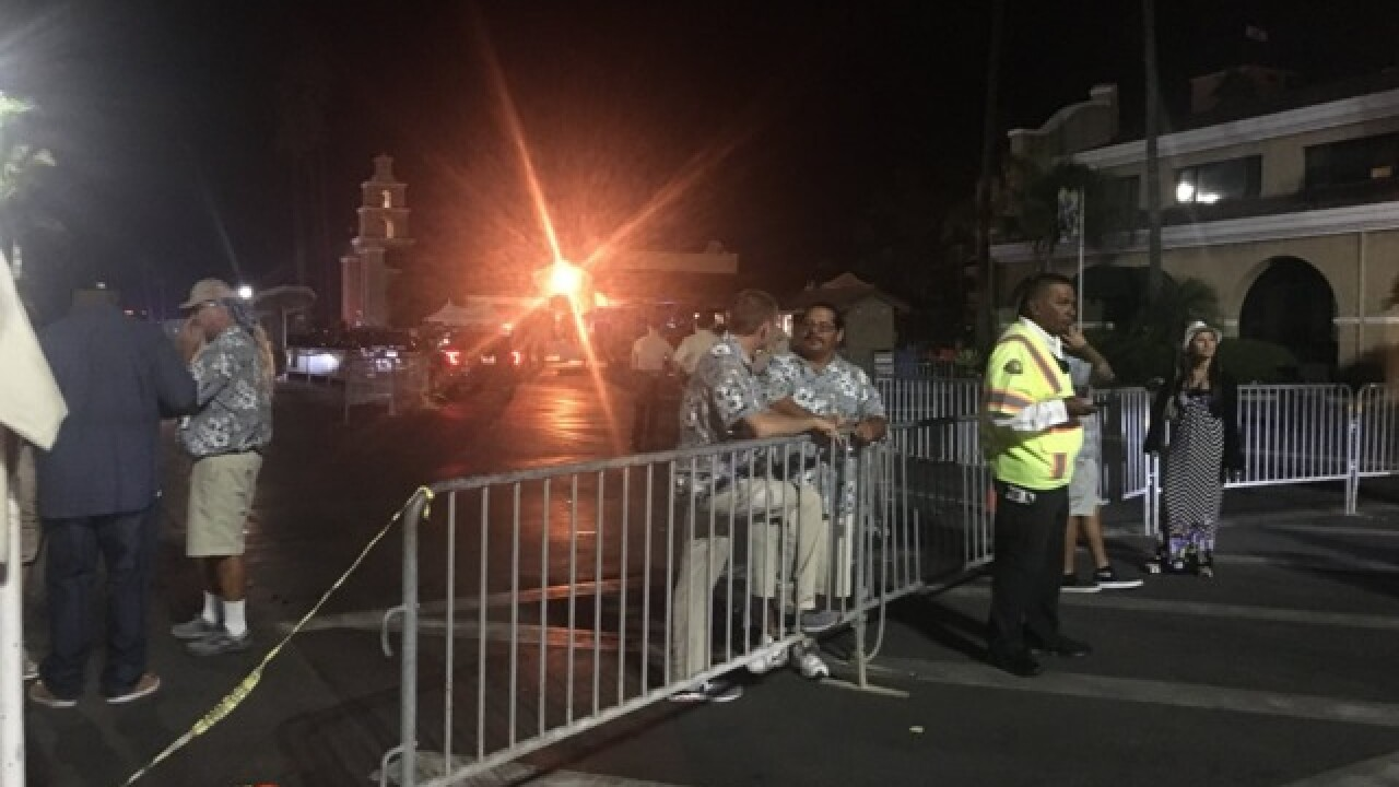 Man pulled gun, shot outside Ice Cube concert