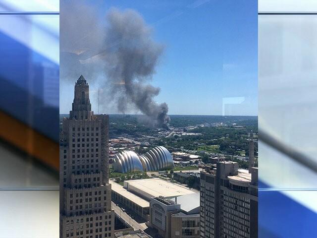 Photos Three Alarm Fire Engulfs Furniture Warehouse Near Downtown