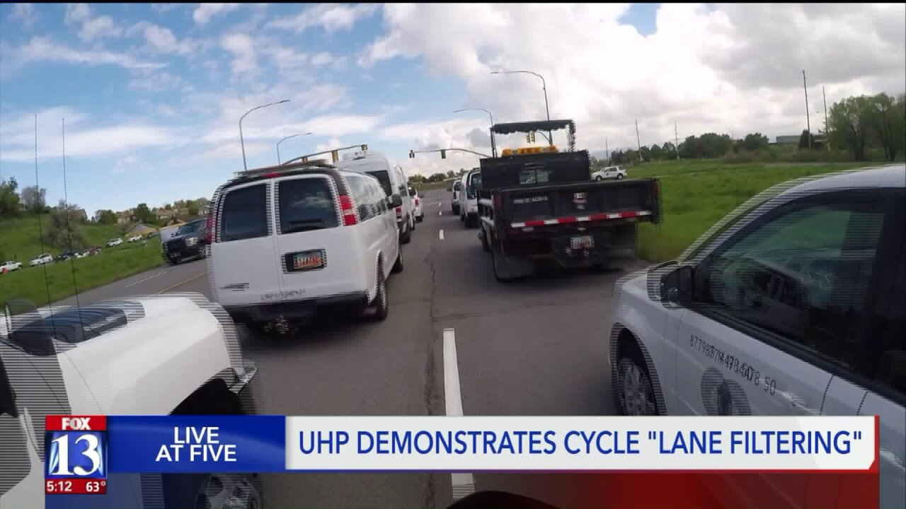 Watch out for motorcycles! – Law allowing lane filtering now in effect