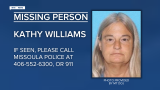 Missing-Endangered Person Advisory for Kathy Williams