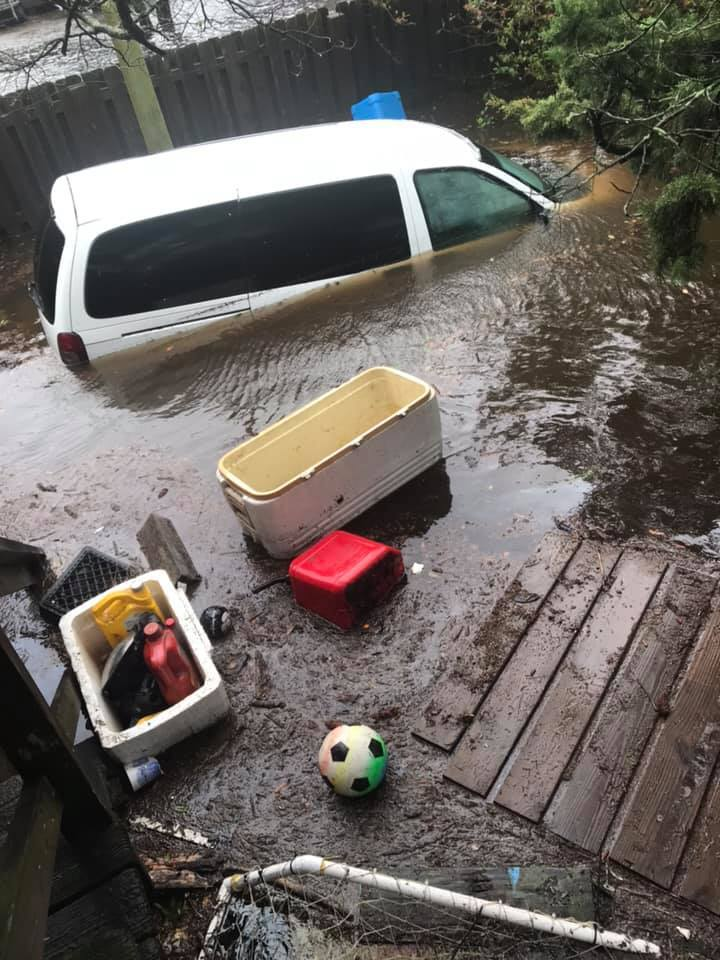 Photos: Flooded abandoned vehicles must be removed on Ocracoke Island, officialswarn