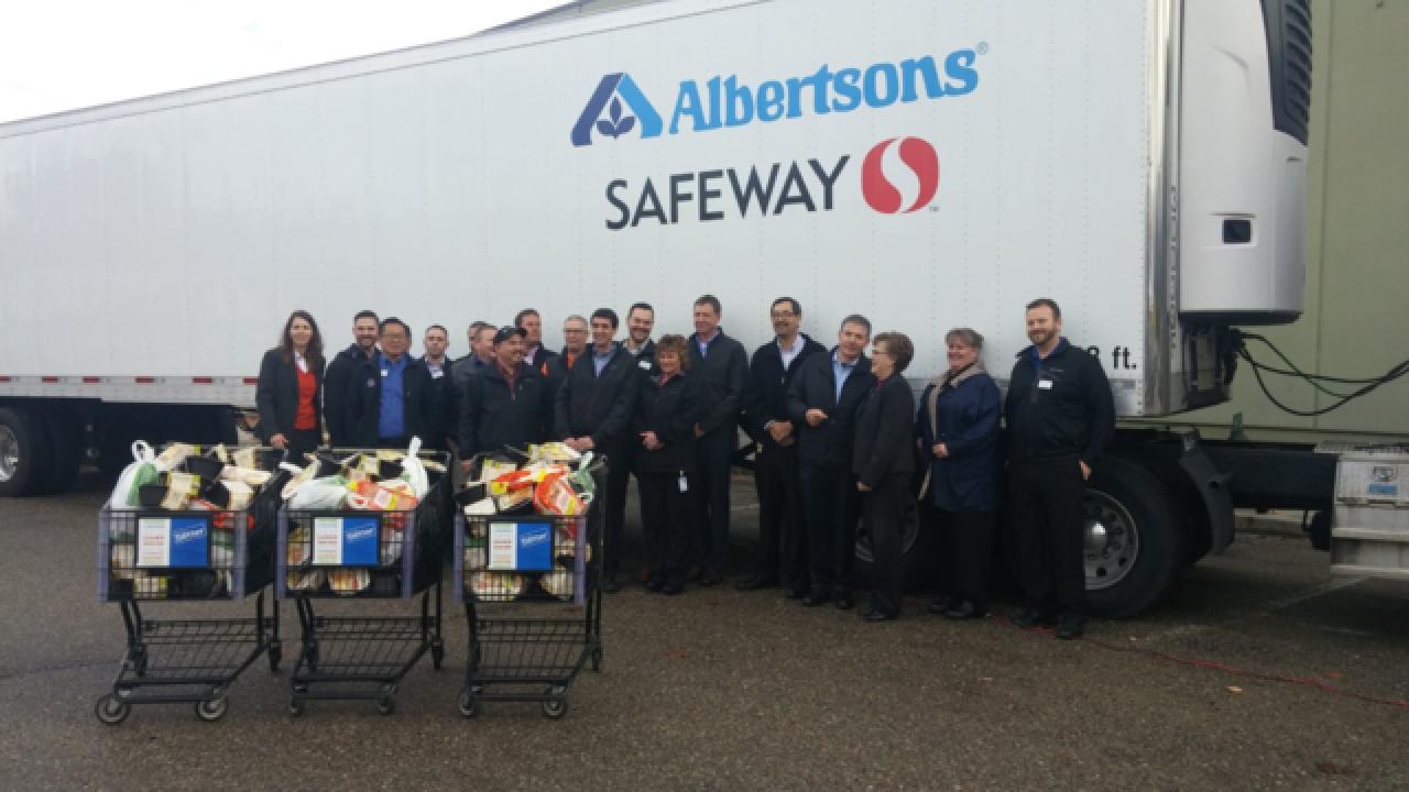 Albertsons donates 2,600 meals to Idaho Foodbank