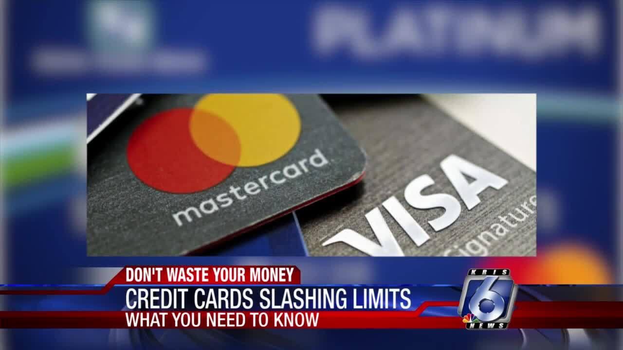 Pandemic causing some banks to slash credit card limits