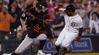 Maikel Franco, Jeimer Candelario Orioles Tigers Baseball