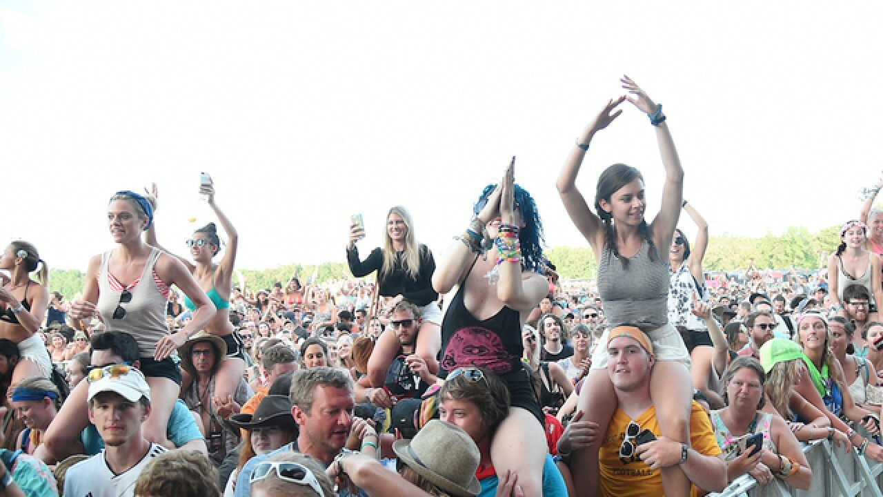 Bonnaroo festival-goers tweet they've been stuck in traffic for hours