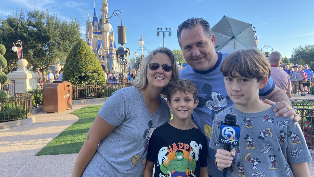 The Murphy's moved to Wellington a few years ago from New Jersey.  And now that they live closer to the mouse, they like to visit about once a month.  To say they are Disney enthusiasts is an understatement.