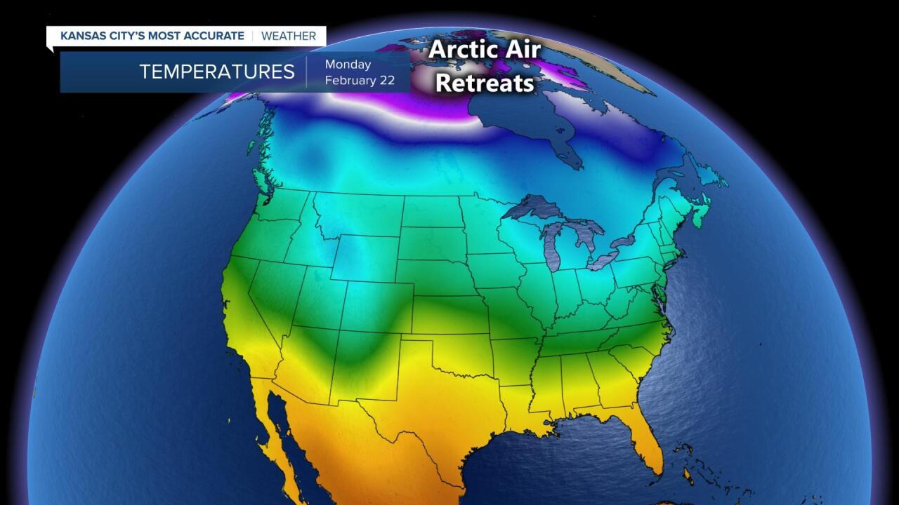 Arctic Retreat Next Monday