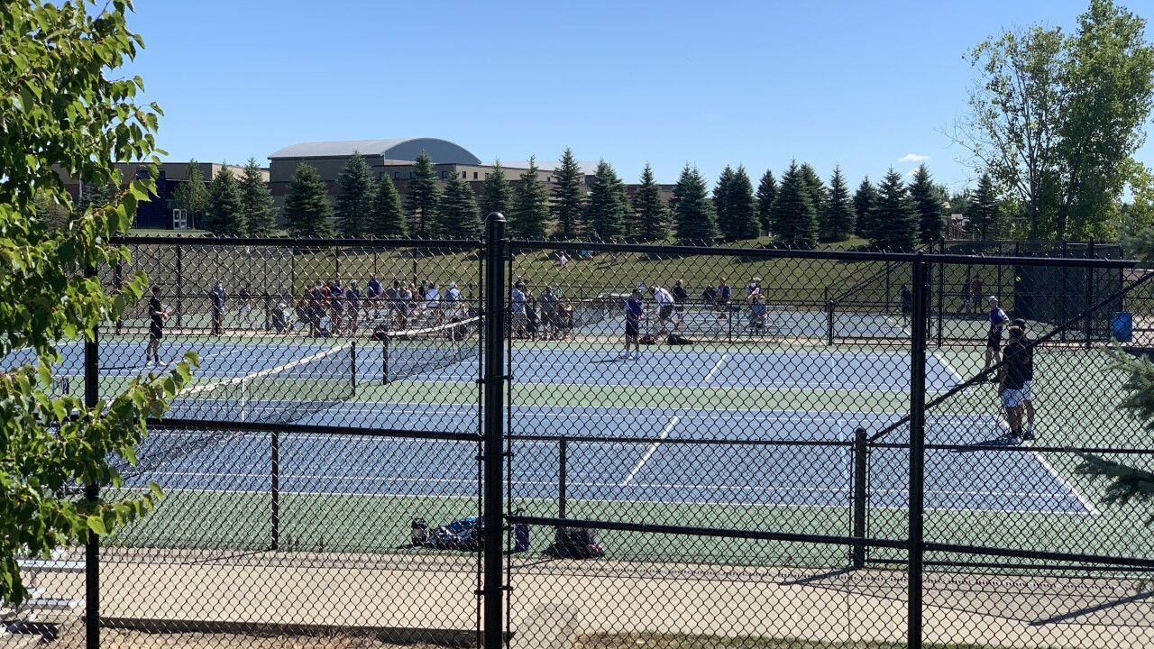 High school boys tennis returns