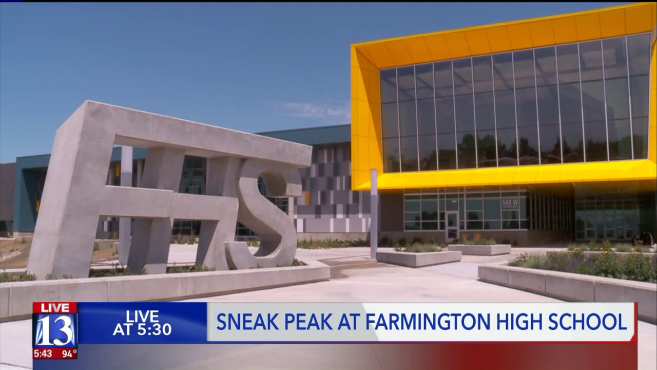 New Farmington High School is a state-of-the-art modern school