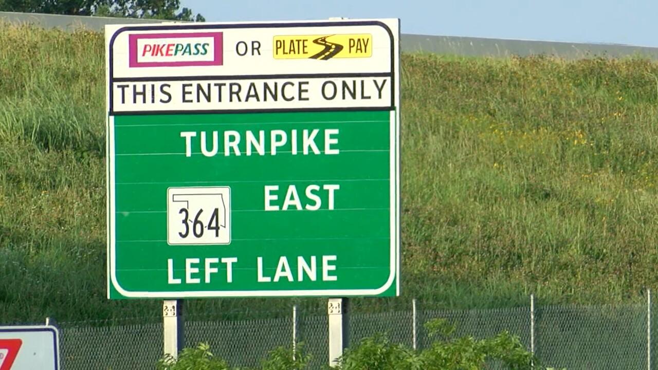 Turnpike tolls going cashless
