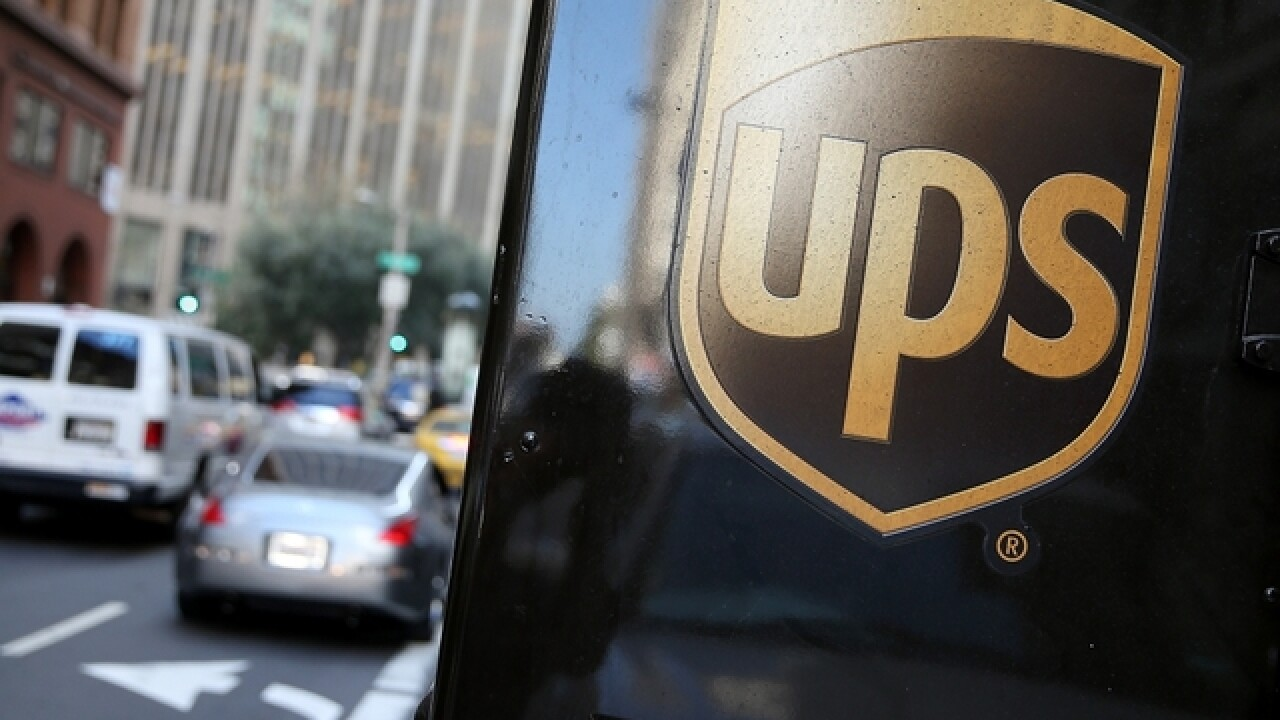 UPS warns there will be holiday delivery delays