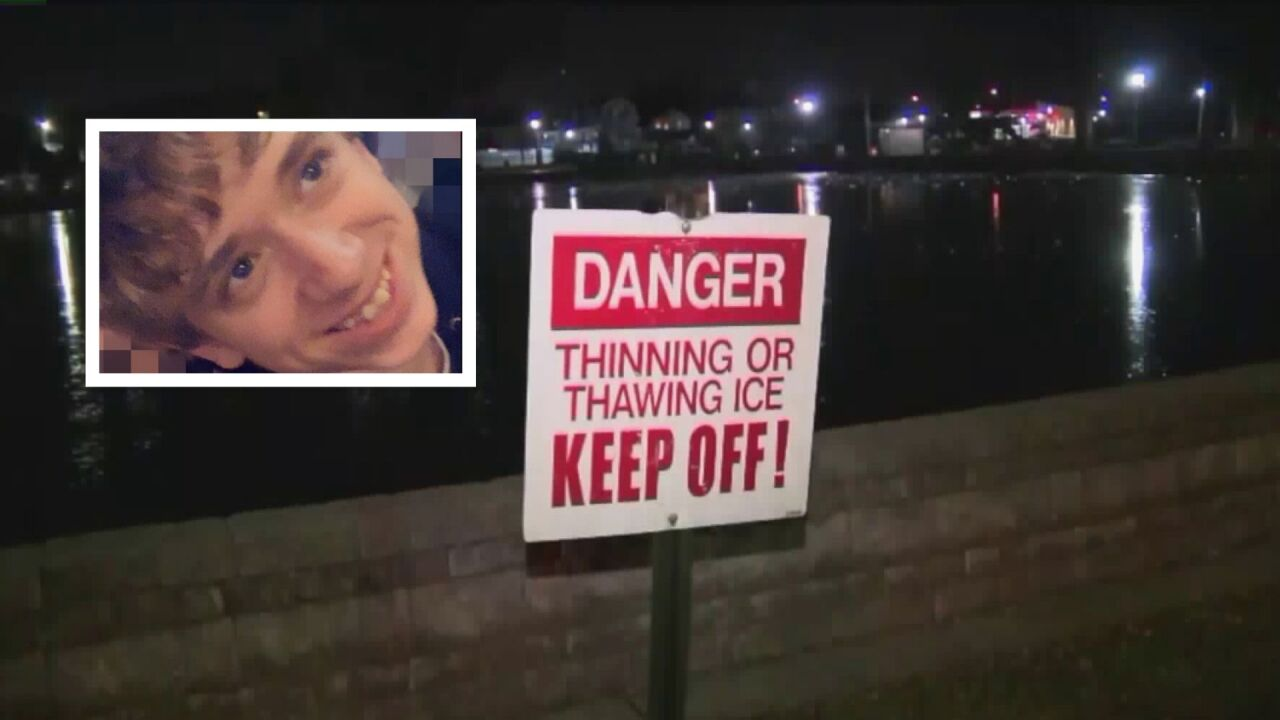 Teen dies after falling into icy lake in New Jersey