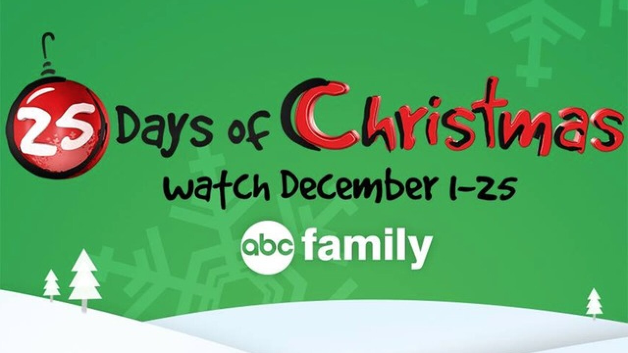 Abc Family 25 Days Of Christmas.Full Schedule Abc Family S 25 Days Of Christmas