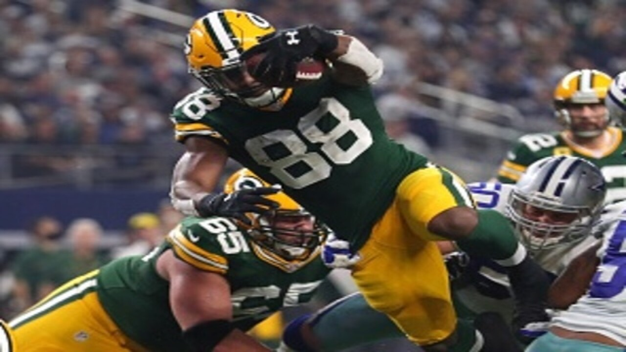 Ty Montgomery hopes to be a 'Packer for life'
