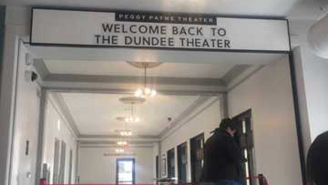 Ribbon cut as Dundee Theater opens
