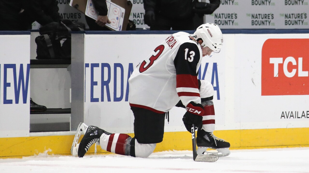 Playoffs? The Arizona Coyotes are down, but not out, with