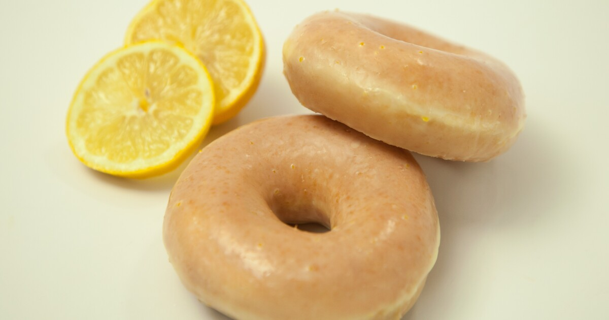Krispy Kreme bringing back lemon-glaze donuts for one week; Here's where to get them in Michigan