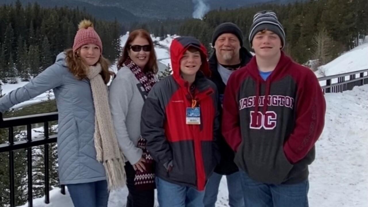 Family overcomes hurricane and covid-19