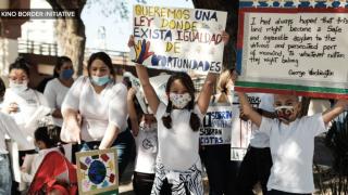 Asylum seekers stranded in Nogales ask President-elect Biden for help