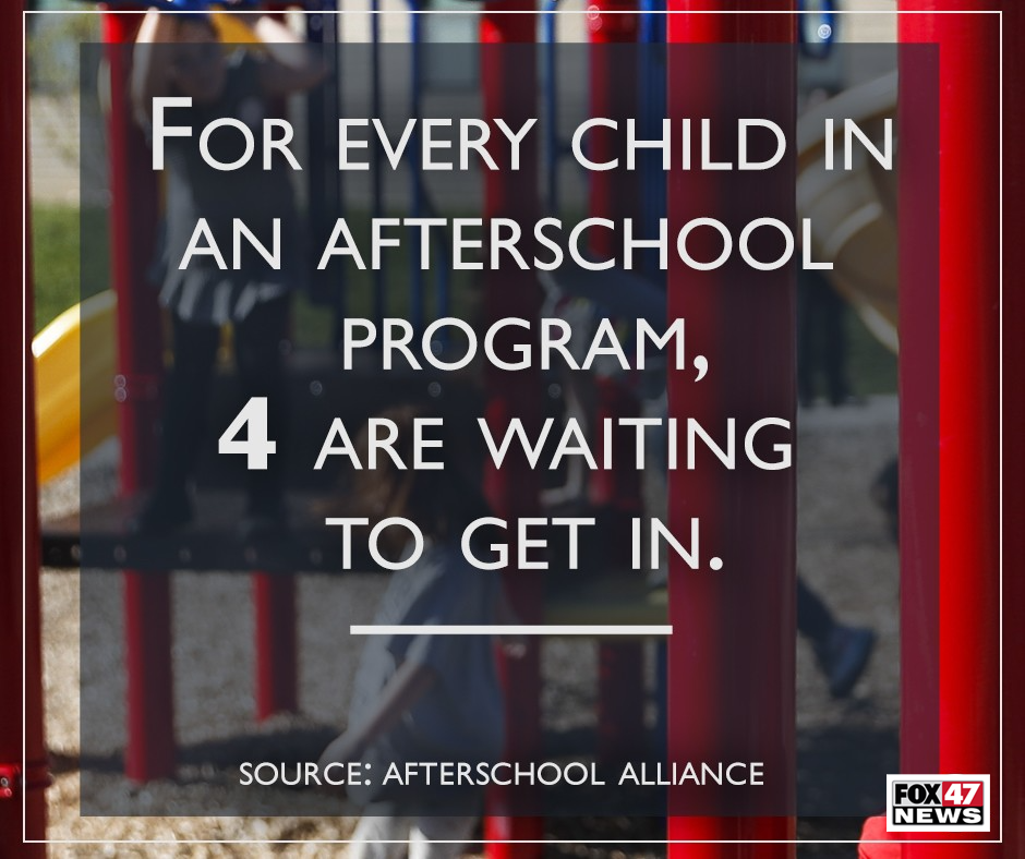 For every child in an afterschool program, 4 are waiting to get in