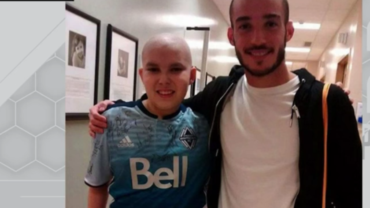 EA Sports honors 15-year-old cancer survivor Kenton Doust in latest FIFA game