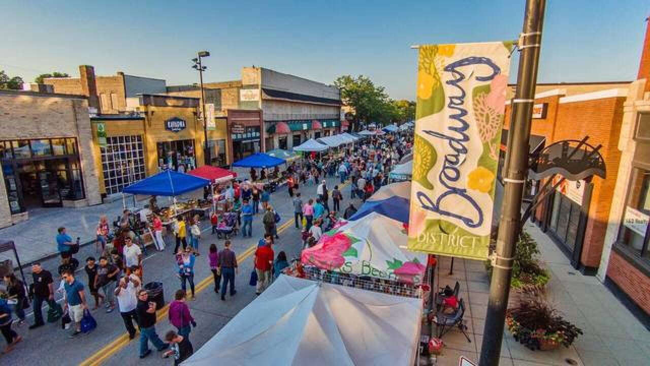 Farmers' Market on Broadway kicks off today