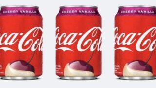 Cherry Vanilla Coca-Cola And Coke Zero Are Coming Back