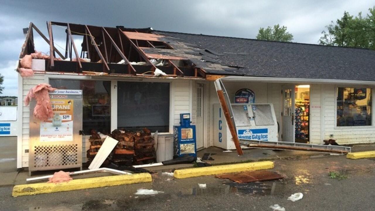 Possible Tornado in Clinton County