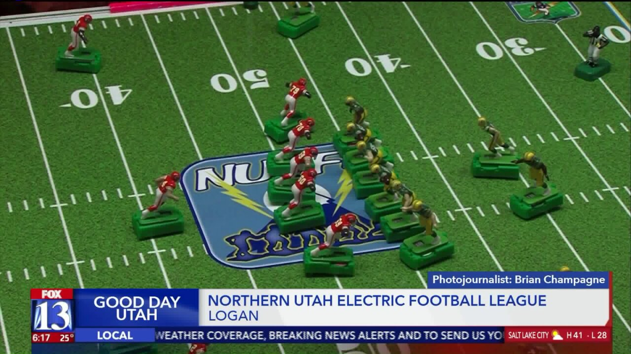 Northern Utah Electric Football League revives old take on gridiron game