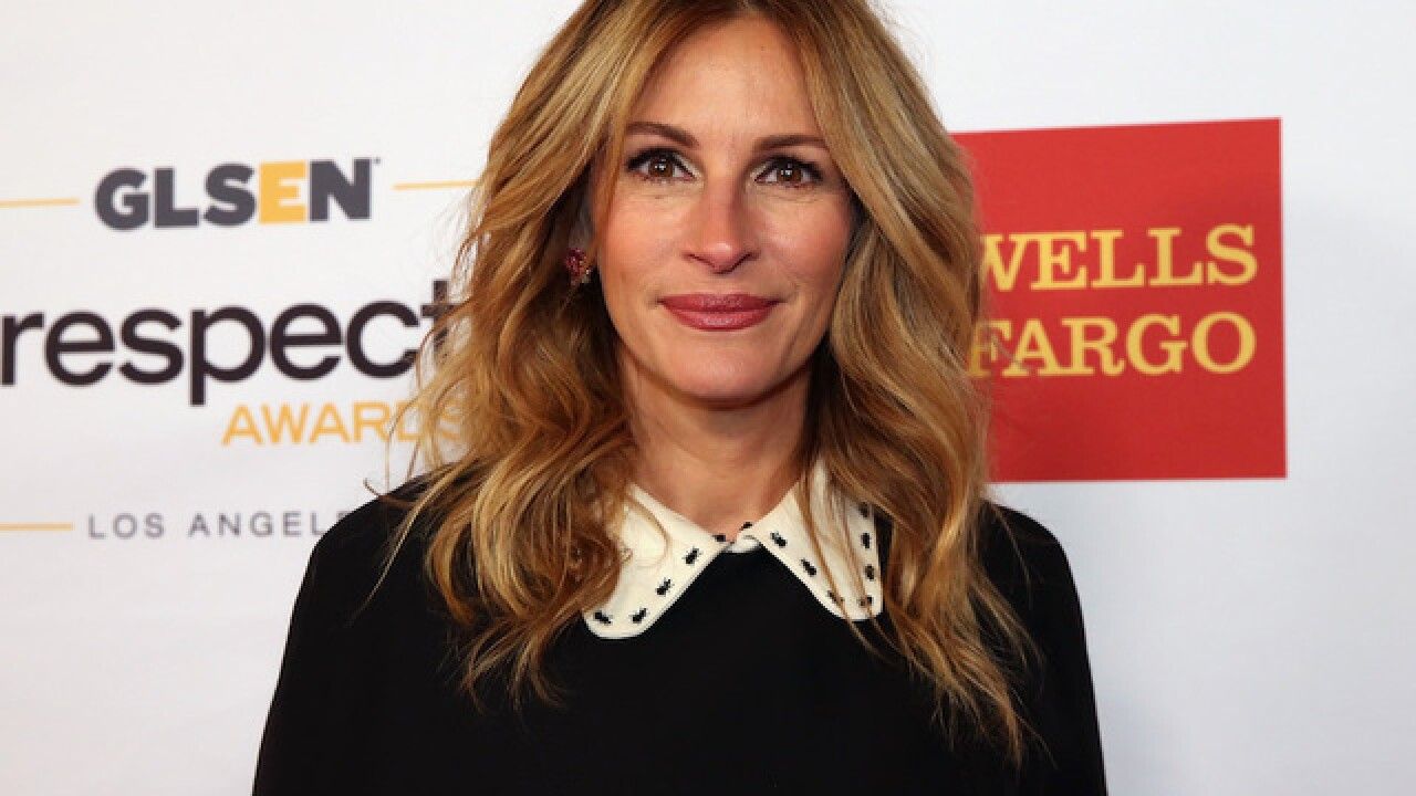 Julia Roberts named People's 'World's Most Beautiful' woman for record 5th time
