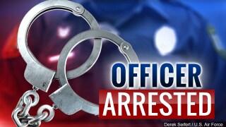 officer arrested