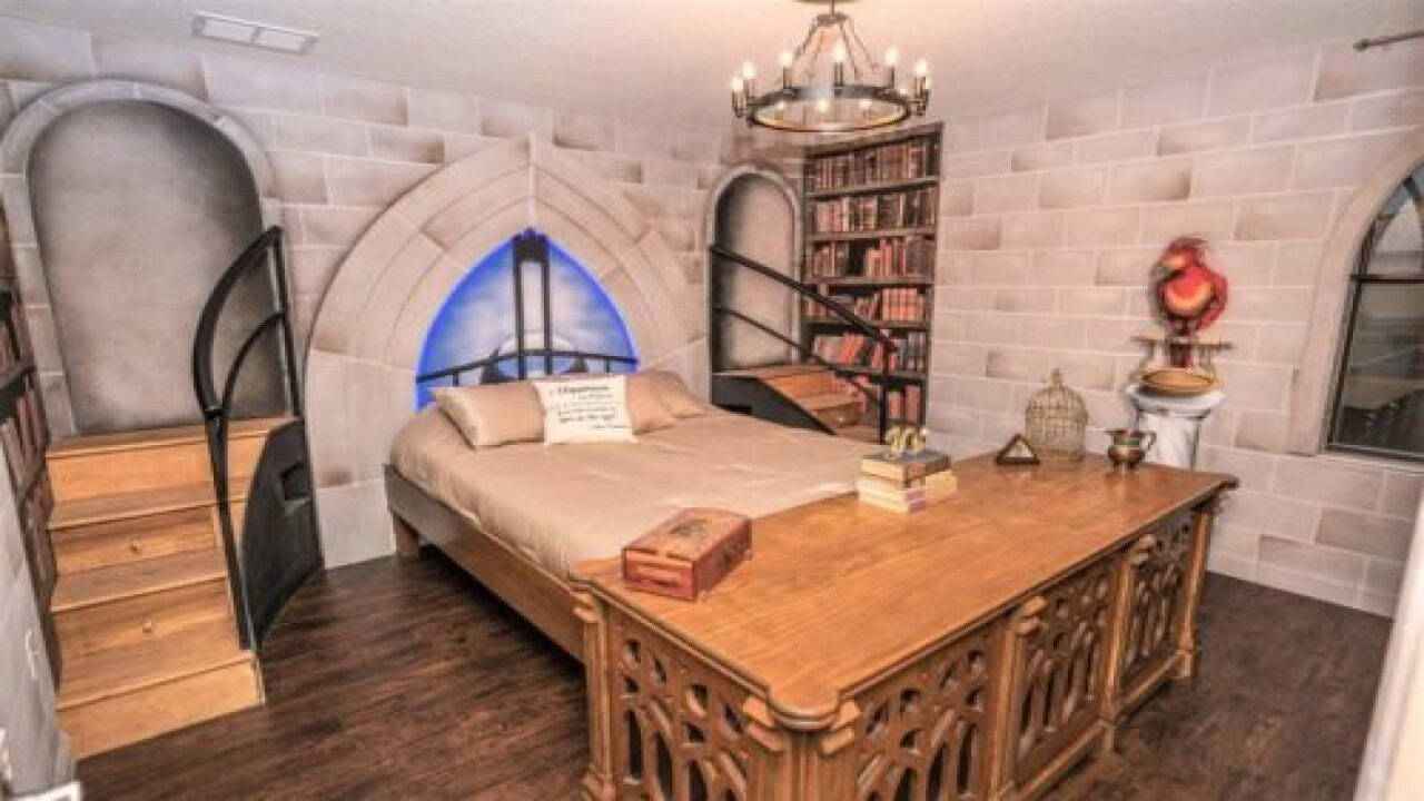 Harry Potter Scenes Come To Life In This 8-bedroom Vacation Rental Home
