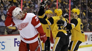 Red Wings Penguins Hockey