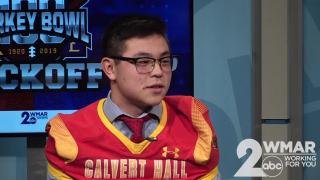 Turkey Bowl 100: Calvert Hall's Kainoa Sasaki