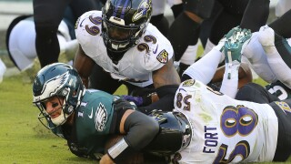Matthew Judon L.J. Fort vs. Eagles