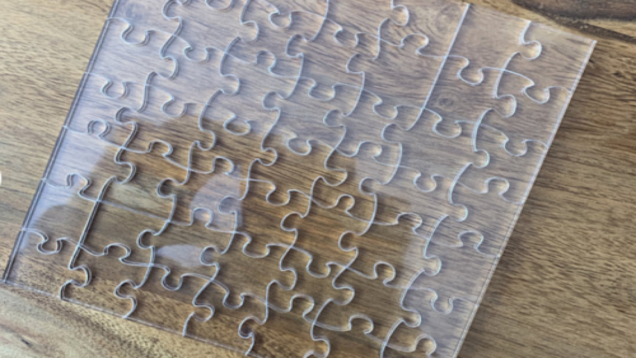 You Can Buy A Clear Jigsaw Puzzle That Just Might Be The Hardest Puzzle Ever