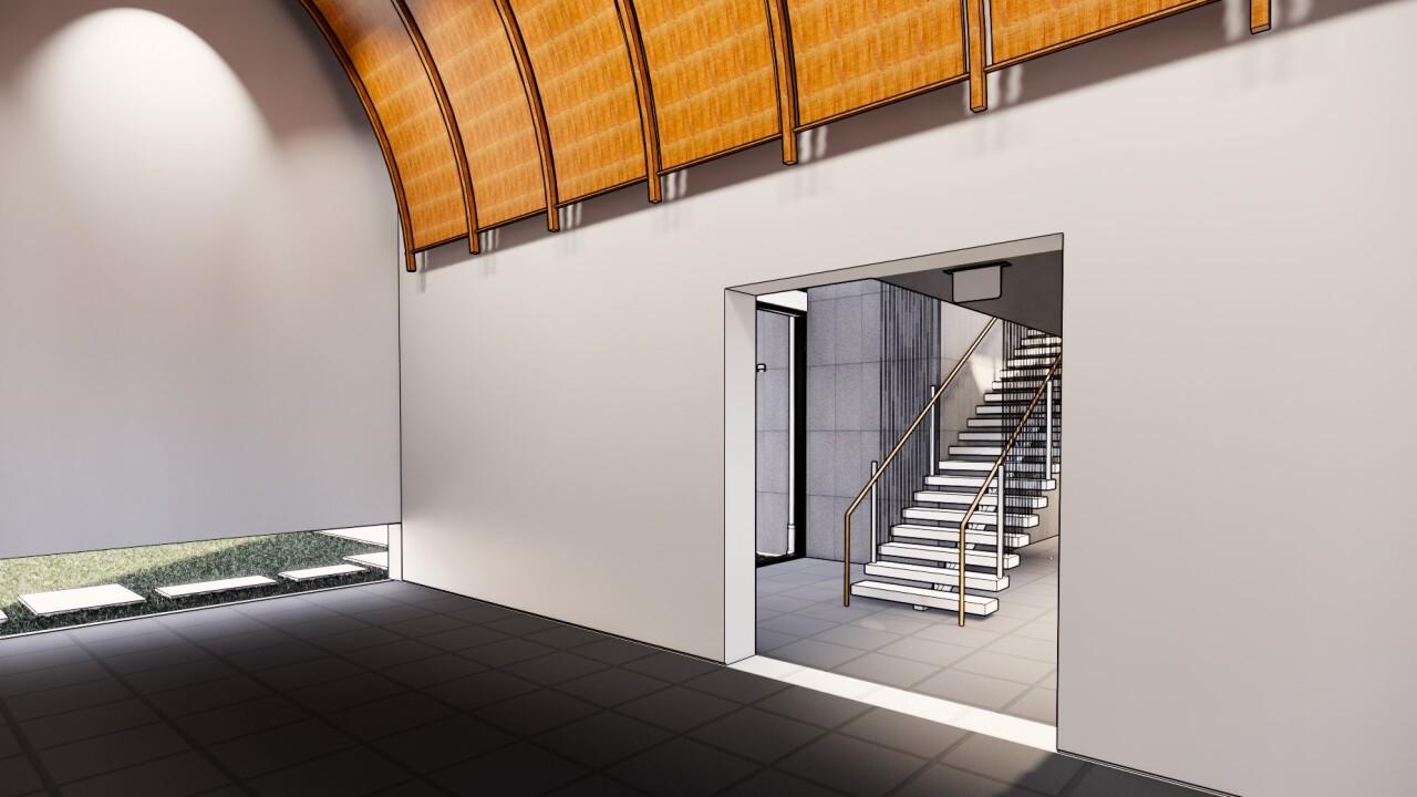 Church Studio rendering 2